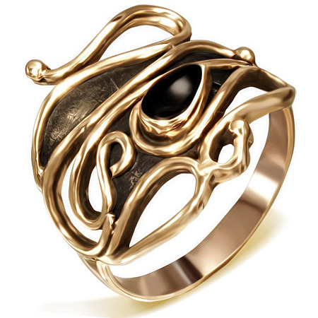 Bronze fingerring