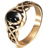 Celtic fingerring i ægte bronze