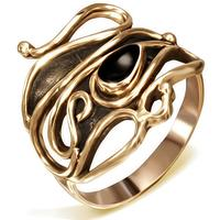 Swirl Fantasy Fingerring i Bronze