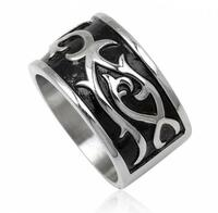 Gothic Steel Male Ring