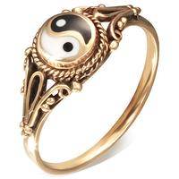 Yin Yang Bronze Fingerring