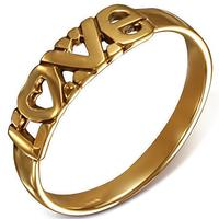 LOVE Fingerring I Bronze