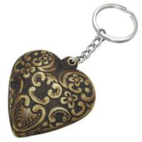 Organic Heart Key Chain