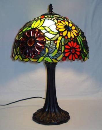 Speciel Tiffany Bordlampe