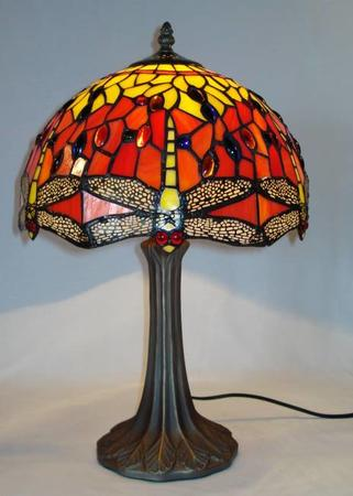 Klassisk Dragonfly Bordlampe